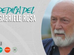 #iorestoacasa: la dedica del Dr. Gabriele Rosa a tutti noi.