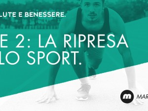 Fase 2: la ripresa delle attività sportive